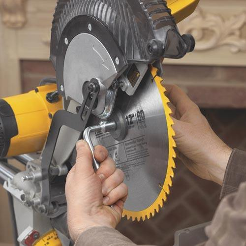 How to change a miter saw blade step by step guide how to change a miter saw blade greentooth Images