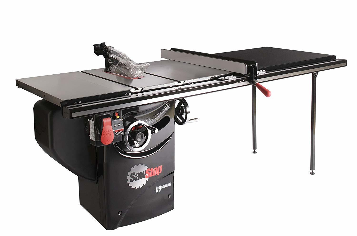 SawStop PCS31230-TGP252 3-HP Professional Cabinet Table Saw