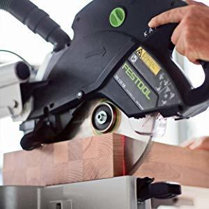 Miter saw with laser