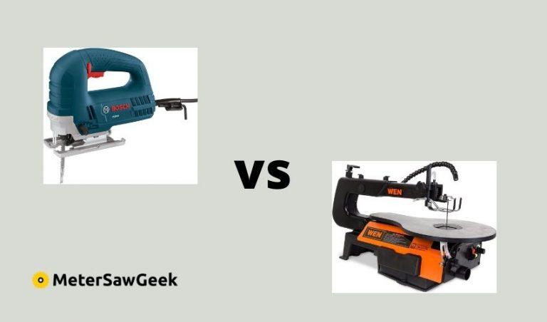 Scroll Saw vs Jigsaw